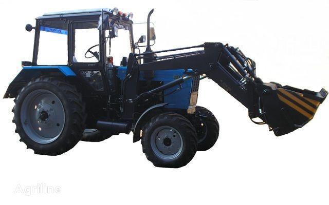 Frontalnyy chelyustnoy BAM-2021 na traktore MTZ Radtraktor