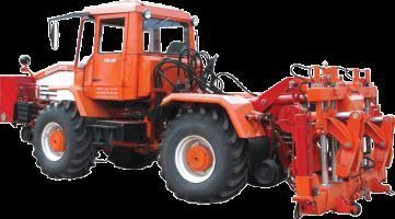 Universalnaya putevaya mashina UPM-1M na baze traktora HTA-200  Radtraktor