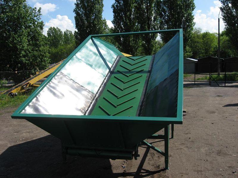 neuer GRIMME Schüttbunker
