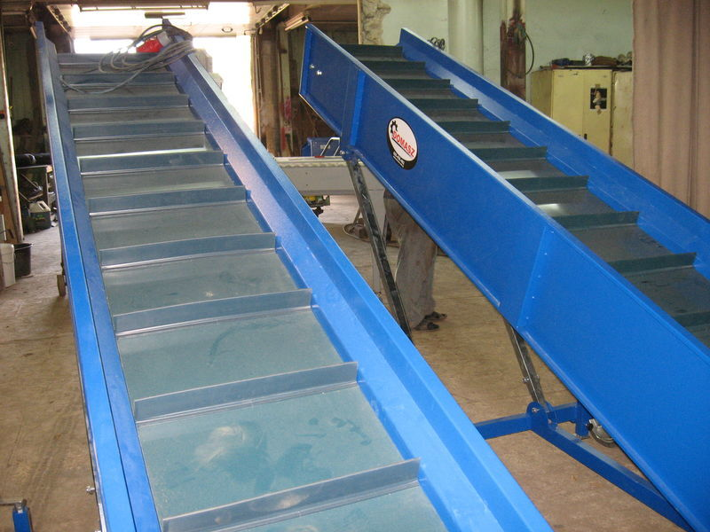 transporter (konveyer) Sortiermaschine