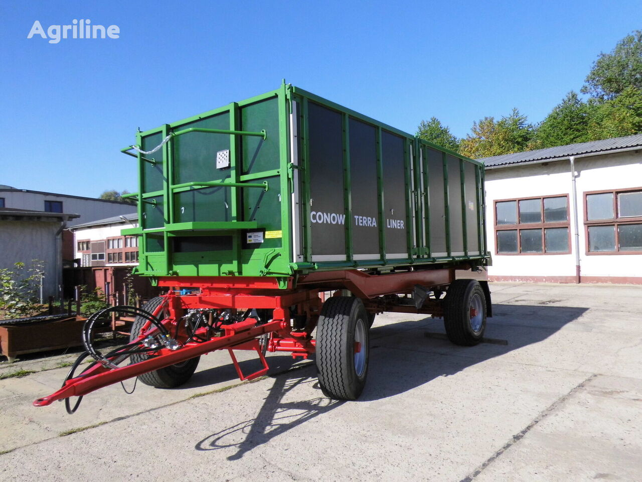 neuer CONOW Terra-Liner Traktoranhänger