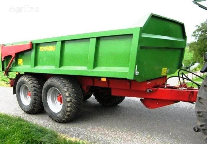 PRONAR T679 12 t / 15,8 m³  Traktoranhänger