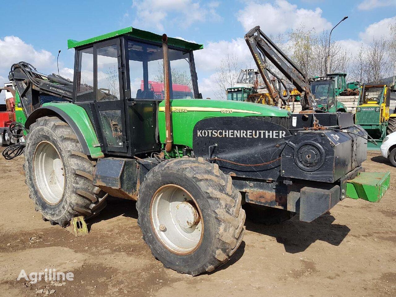 JOHN DEERE 6620 KOTSCHENREUTHER Forsttraktor