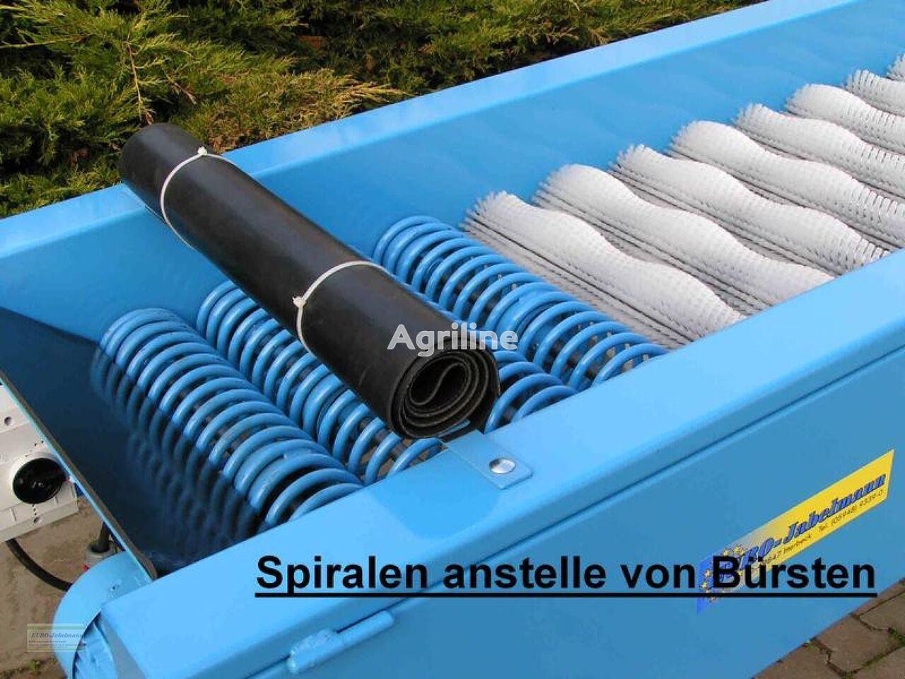neue EURO-Jabelmann Bürstenmaschine, NEU, 11 Bürsten + 3 Spiralen, 550 mm breit Gemüsewaschmaschine