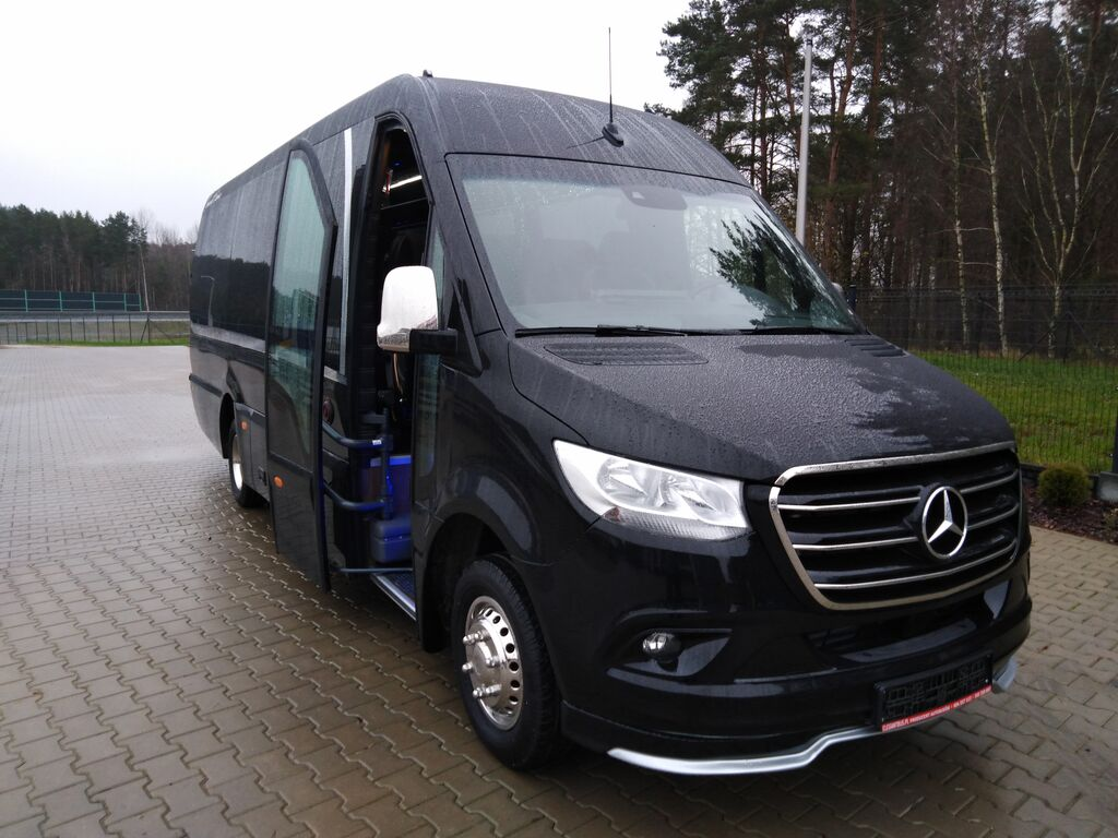 neuer MERCEDES-BENZ 09 Sprinterbus 519 XXXL 24Pl. Komf.Seitl.Ko.VIP Reisebus