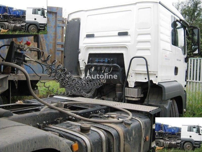 DAF SAMOSVALNAYa SISTEMA HYVA ( Gidravlika na tyagach ) Sattelzugmaschine
