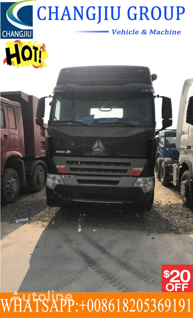 HOWO Used tractor truck 375 Sattelzugmaschine