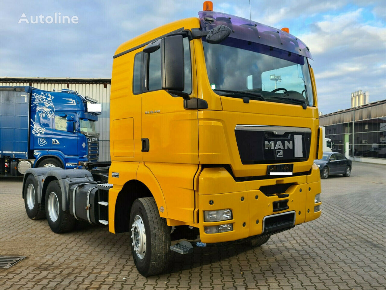 MAN TGX 26.440 6x4 BLS Euro 5 Kipphydraulik  Sattelzugmaschine