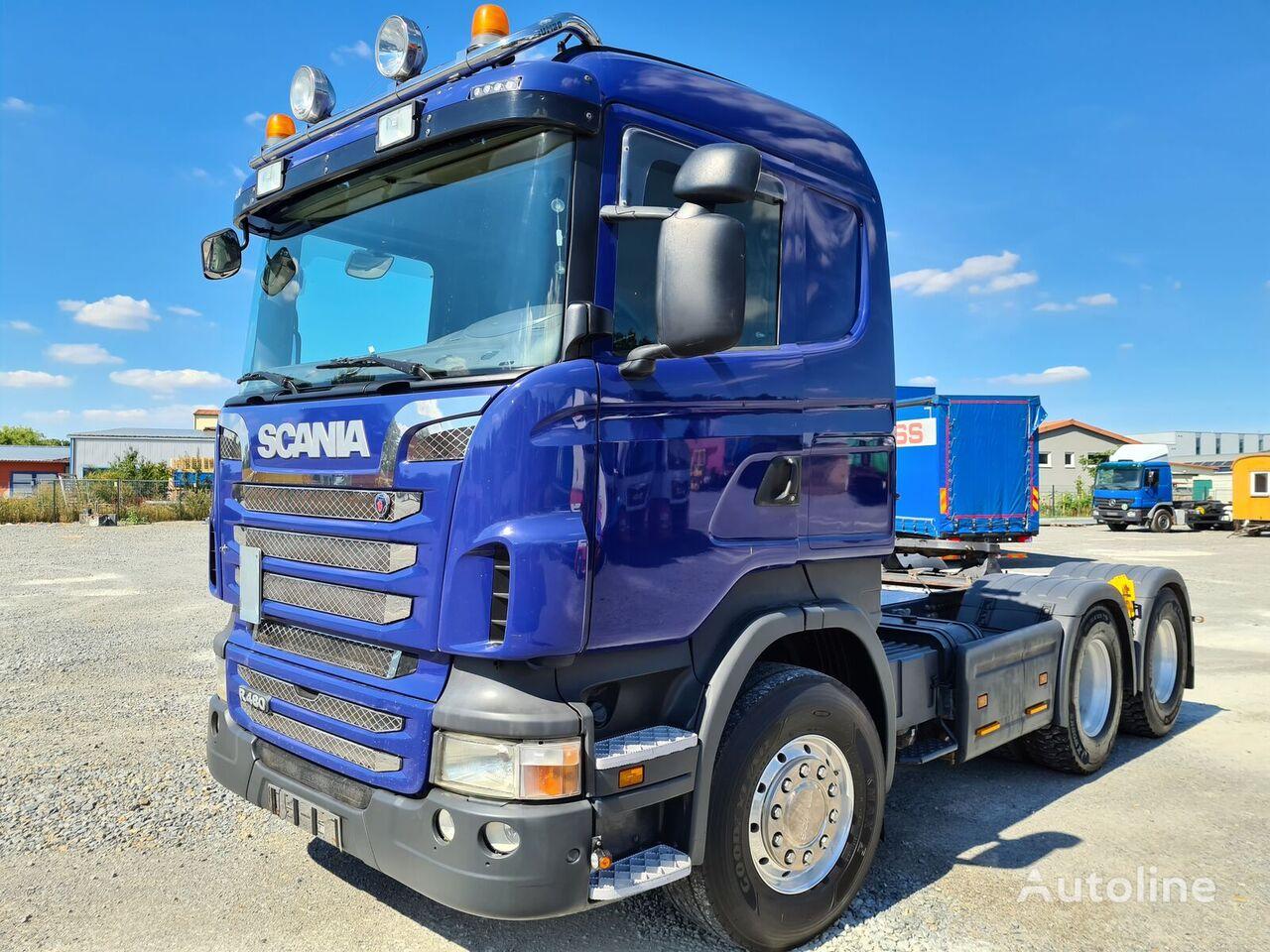 SCANIA R 480 Euro 5 Nebenantrieb Sattelzugmaschine