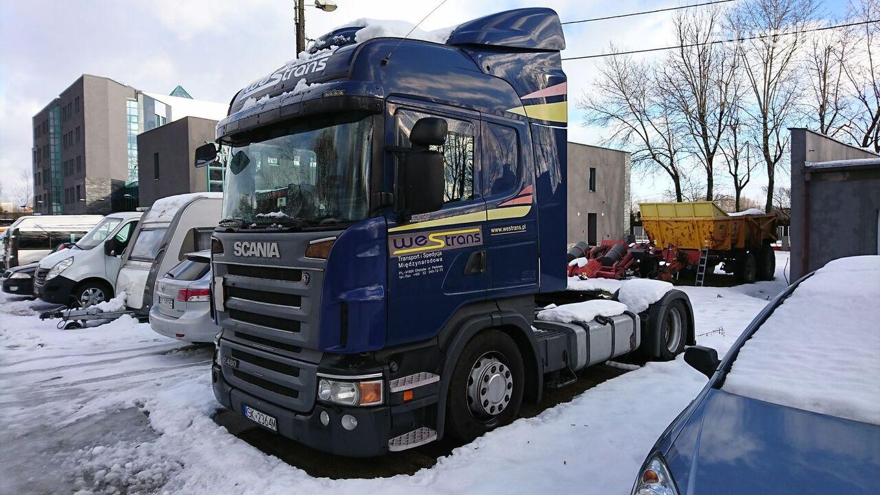 SCANIA R480 MEGA /LOW DECK RETARDER XENON 2008 Sattelzugmaschine