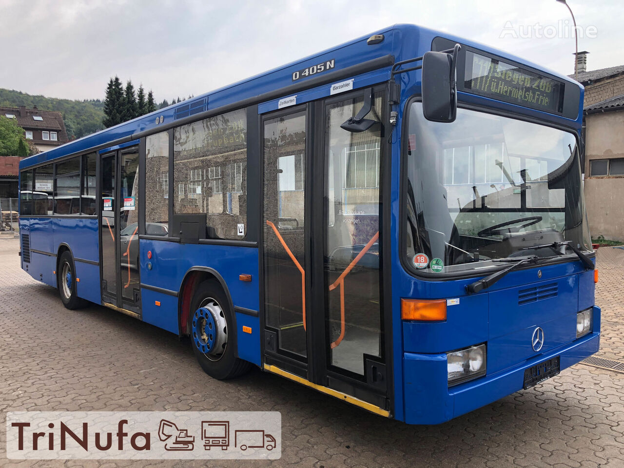 MERCEDES-BENZ O 405 N K F | Länge: 10,5 m | Höhe 2,71 m | Euro 4 | Stadtbus