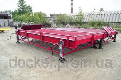 neue DOCKER Stationary Loading Ramp 8 ton RMM-2-23-40-8 Mobile Verladerampe