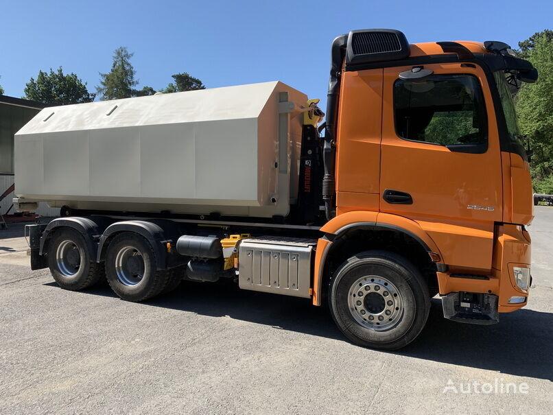 neuer VOLVO amag AT 17 Abrolltank Tankwagen Auflieger