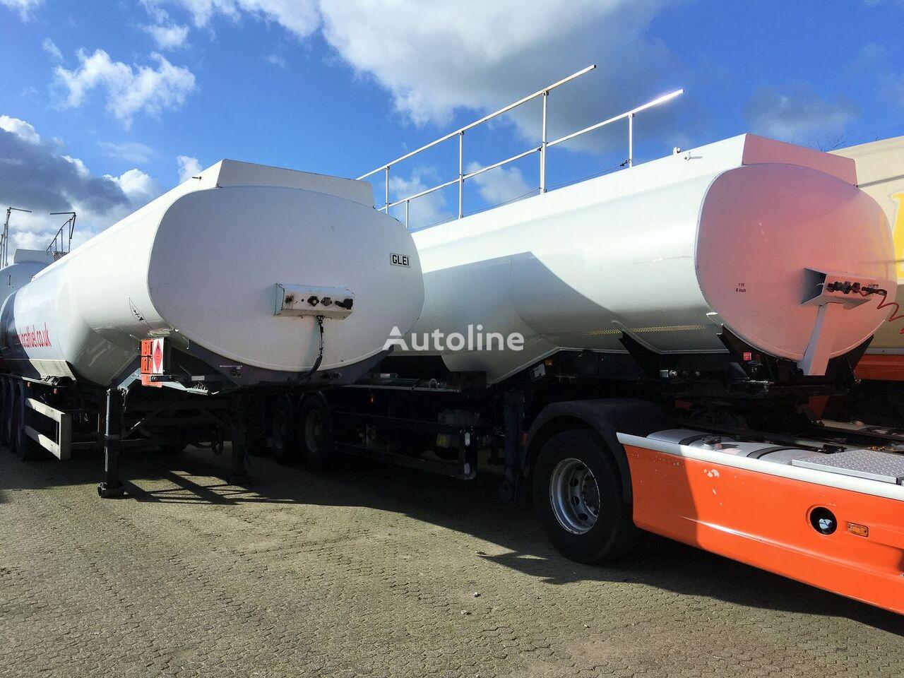 FRUEHAUF Fuel 40.400 ltr Benzin-Diesel LGBF Tankwagen für Heizöl und Diesel