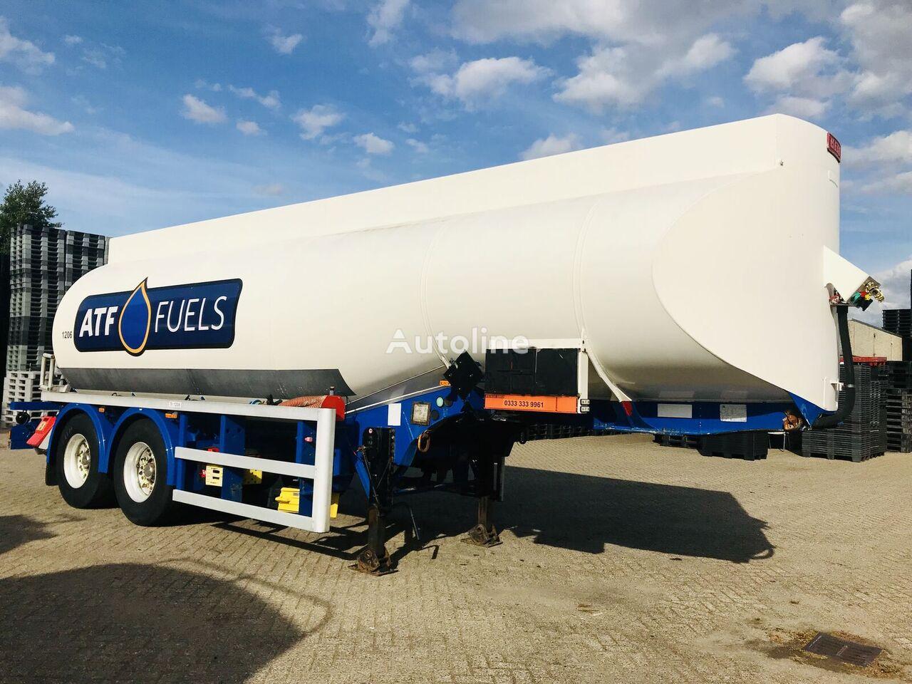 HEIL Thompson 29-5 Fuel Tankwagen für Heizöl und Diesel