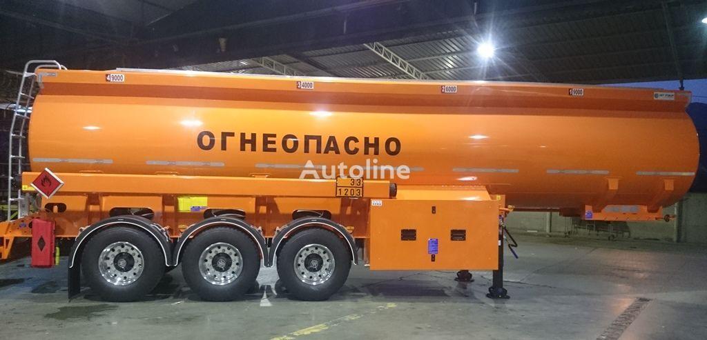 neuer OKT-TRAILER Tankwagen für Heizöl und Diesel