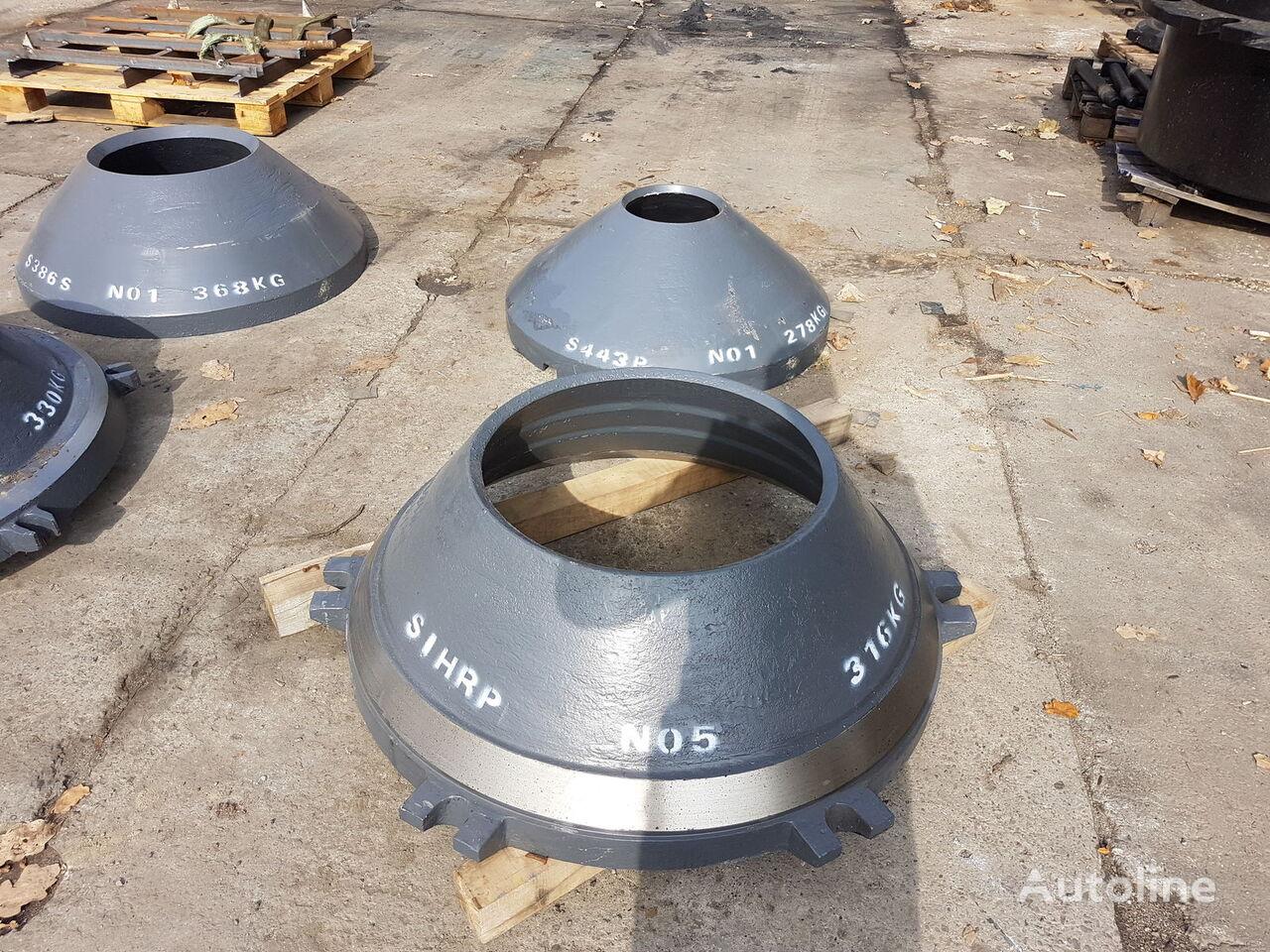 DKT 900 wear parts cone mantle sonstige Ausrüstung